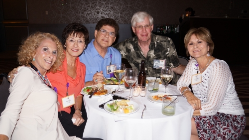 Barbara Fishberg, Marti and Ed Itkin, Steve Rodewald, Peggy Gleason