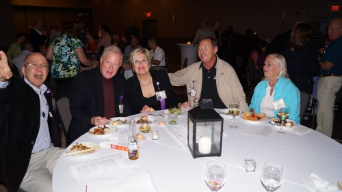 Steve Gartrell, Alex Cave, Joan Stolarz, Dennis and Virginia Erdman